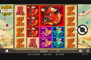 Spinata Grande Mobile Slot Screenshot