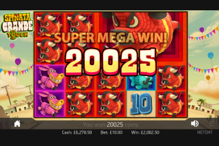 Spinata Grande Slot Super Mega Win