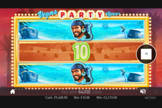 Vegas Party Mobile Slot Expanding Reels