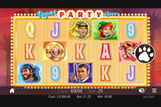 Vegas Party Mobile Slot Screenshot
