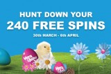 Hunt Down Your 24 Free Spins with this Easter Promotion