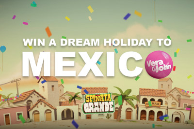 Win a Holiday to Mexico with VeraJohn Casino
