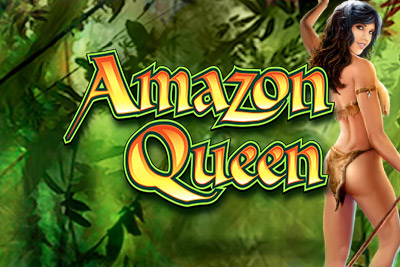Amazon Queen Mobile Slot Logo