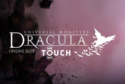 Dracula Touch Mobile Slot Logo