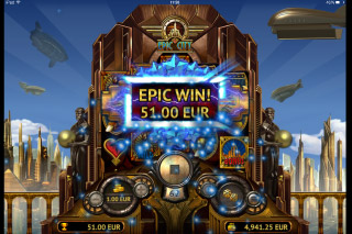 Epic City Mobile Slot Epic Win