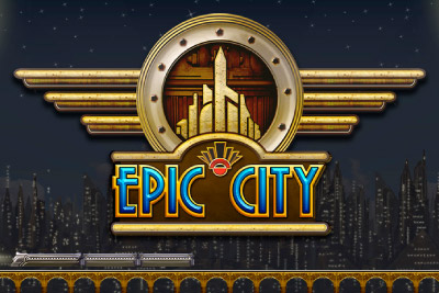 Epic City Mobile Slot Logo