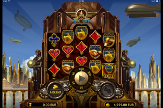 Epic City Mobile Slot Reels
