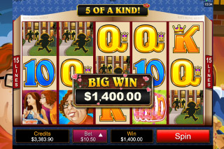 Georgie Porgie Mobile Slot Big Win