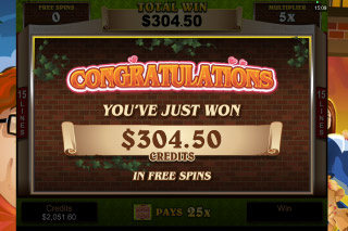 Georgie Porgie Mobile Slot Free Spins Win