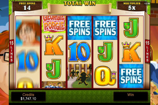 Georgie Porgie Mobile Slot Free Spins