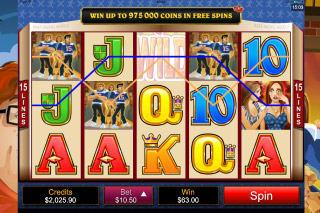 Georgie Porgie Mobile Slot Reels