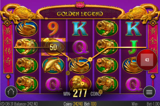 Golden Legend Mobile Slot Win