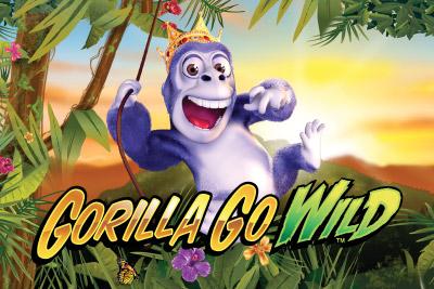 Gorilla Go Wild Mobile Slot Logo