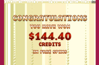 Harveys Mobile Slot Free Spins Win