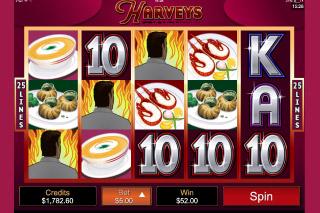 Harveys Mobile Slot Wilds
