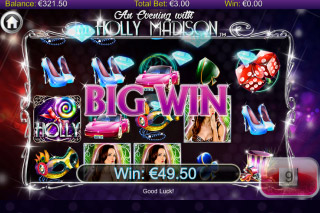 Holly Madison Mobile Slot Big Win