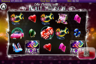 Holly Madison Mobile Slot Reels