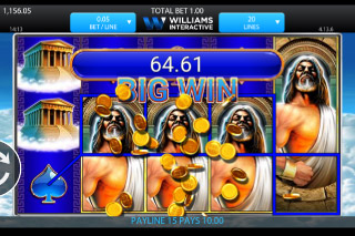 Kronos Mobile Slot Big Win