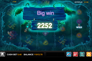 Magic Mushrooms Mobile Slot Big Win