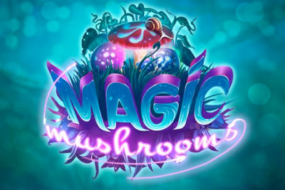Magic Mushrooms Mobile Slot Logo