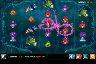 Magic Mushrooms Mobile Slot Screenshot