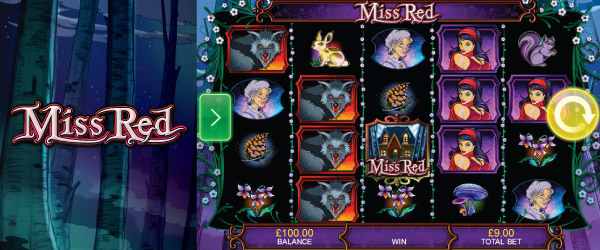 Miss Red Mobile Slot