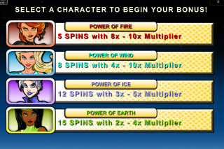 Natural Powers Mobile Slot Free Spins Select