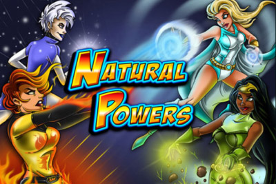 Natural Powers Mobile Slot Logo
