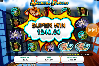 Natural Powers Mobile Slot Super Win