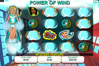 Natural Powers Mobile Slot Wind Bonus