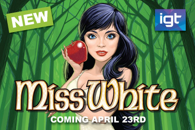 New IGT Slot Miss White Coming to Mobile Casinos April 2015
