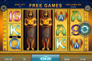 Pharaohs Secrets Mobile Slot Wilds