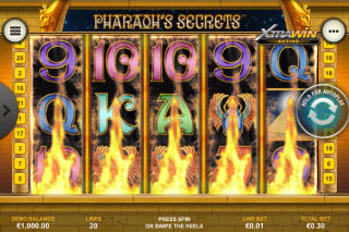 Pharaohs Secrets Mobile Slot XtraWin