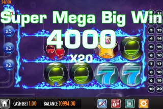 Pyrons Mobile Slot Super Mega Big Win