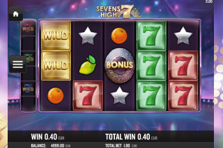 Sevens High Mobile Slot Reels