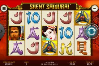 Silent Samurai Slot Reels
