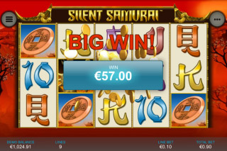 Silent Samurai Slot Big Win