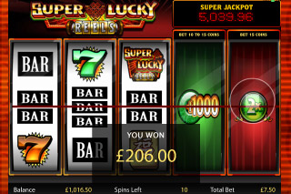 Super Lucky Reels Slot Big Win