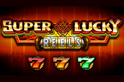 Super Lucky Reels Mobile Slot Logo