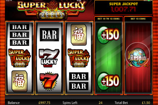 Super Lucky Reels Mobile Slot Reels