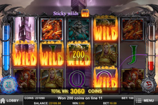 Tower Quest Mobile Slot Burning Wilds