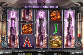 Tower Quest Mobile Slot Expanding Wilds