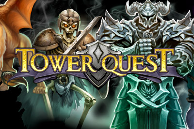 Tower Quest Mobile Slot Logo