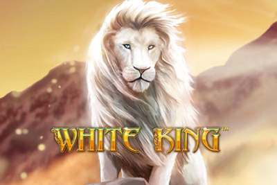 White King Mobile Slot Logo