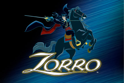 Zorro Mobile Slot Logo