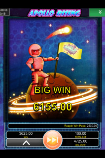 Apollo Rising Mobile Slot Big Win
