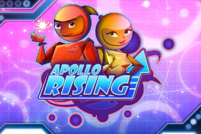 Apollo Rising Mobile Slot Logo