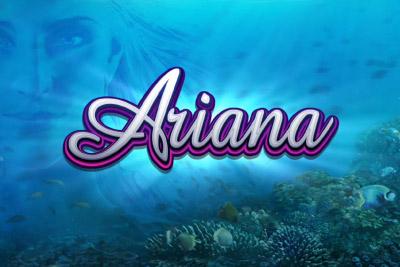 Ariana Mobile Slot Logo