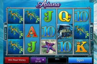 Ariana Mobile Slot Reels