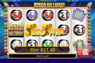 Bingo Billions Mobile Slot Big Win